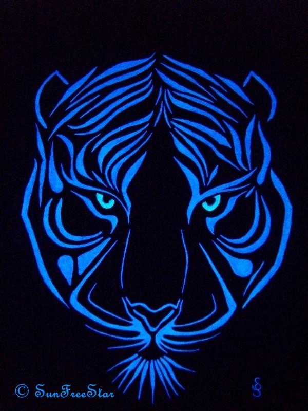 Fluo Tiger